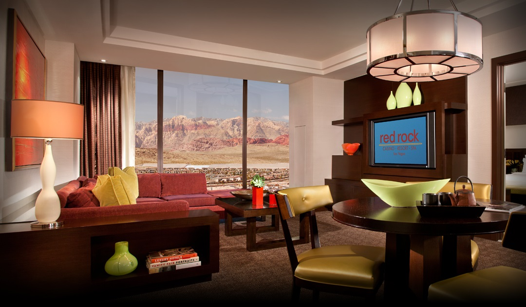 red rock casino lucky suite