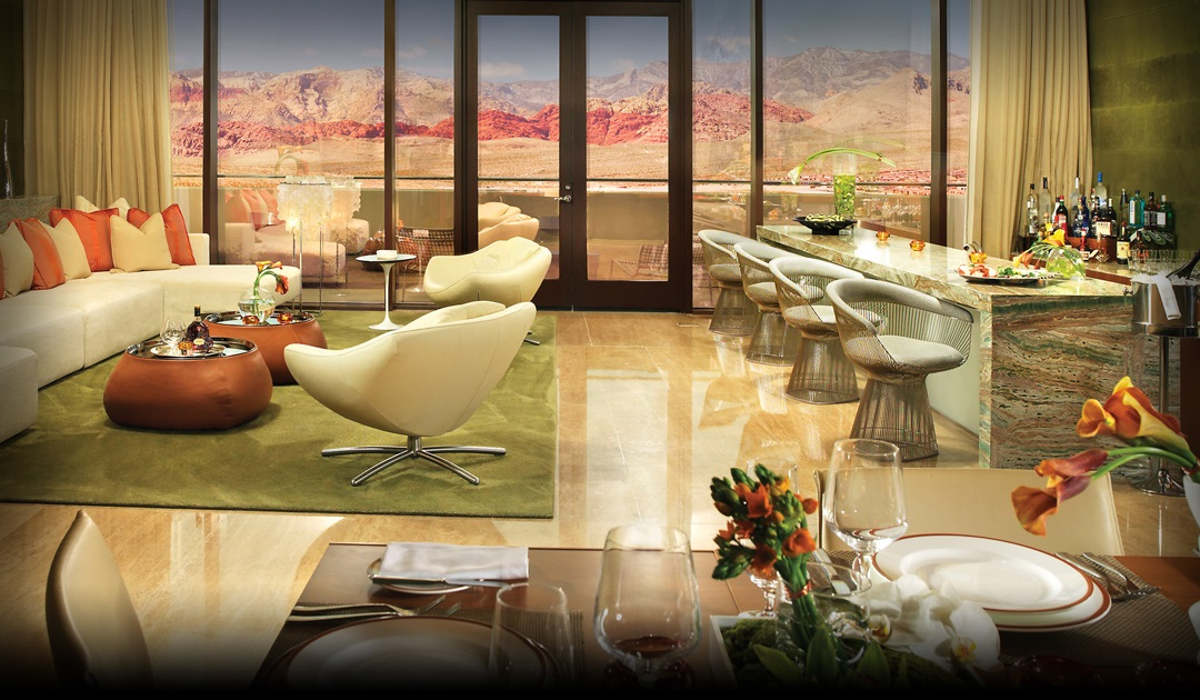 Viva Suite inside Red Rock Resort
