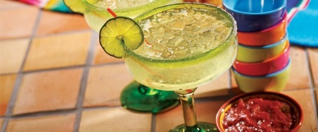 Lime margarita from Cabo Mexican restaurant