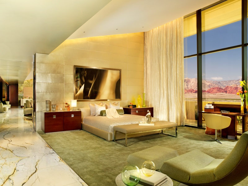 las vegas 2 bedroom luxury suites the canyon suite red