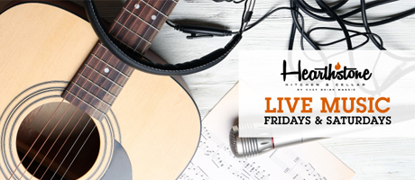 Live Music Fridays and Saturdays