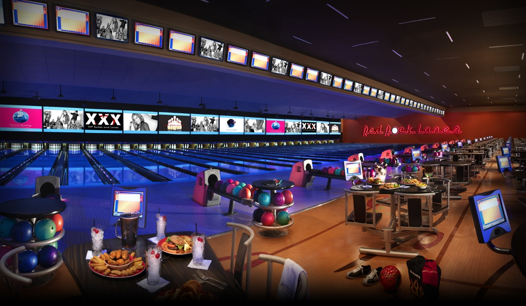 Tons of things to do in Las Vegas like bowling at Red Rock