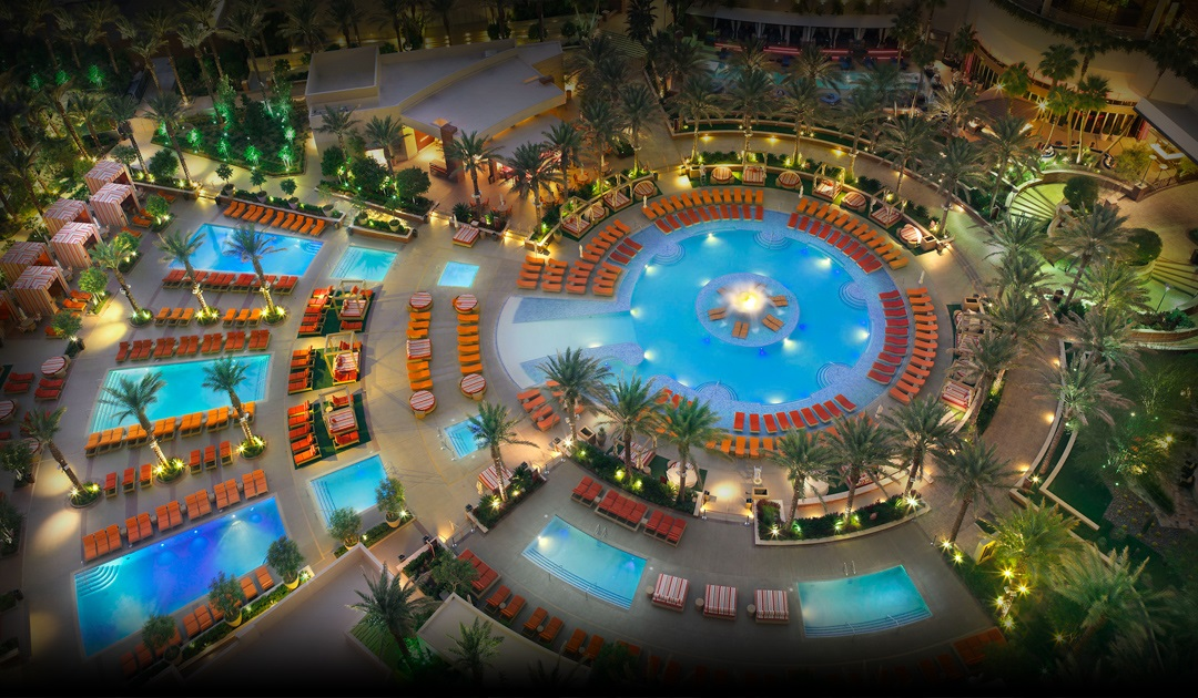 Las vegas hotel pools best swimming pools red rock resort - Las vegas swimming pools ...