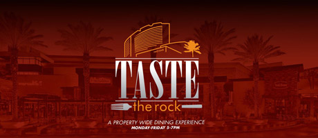 Taste the Rock - a property wide dining experience at Red Rock