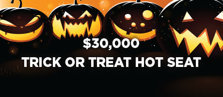 Trick or Treat Hot Seat