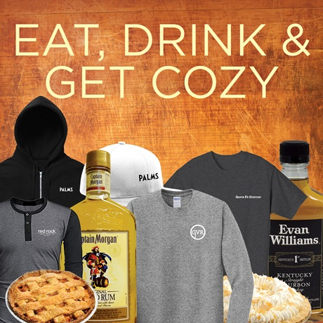 Station Casinos November Gifts: Eat, drink, & get cozy