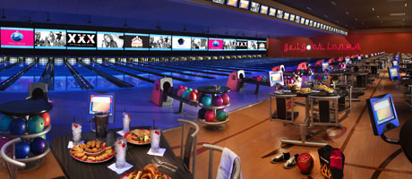 Bowling at Red Rock Lanes