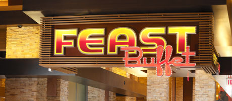 The Feast Buffet's Sign