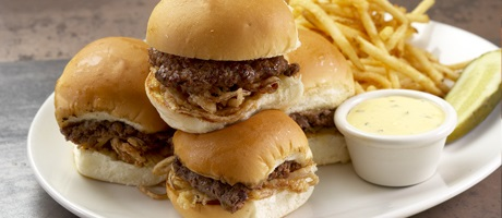 Yard house happy hour slider deal