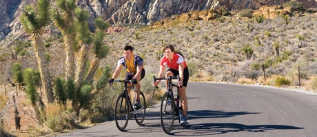 Bicycle adventure trip from Red Rock Casino