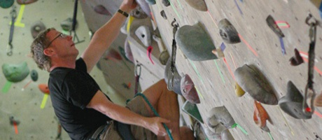 Indoor rock climbing activities at Red Rock Casino Resort & Spa
