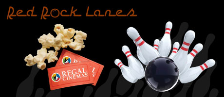 Movie & Bowling Package at Red Rock Lanes & Red Rock Cinemas