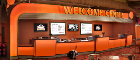 Welcome Center at Red Rock Lanes