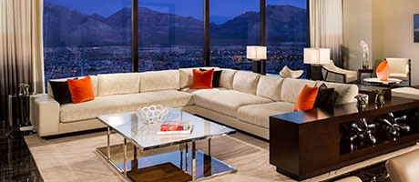 Luxury Suite Living Room