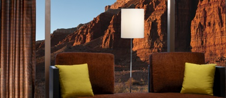 Two Queens room with view of Red Rock Canyons