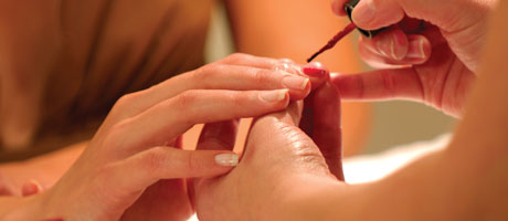 Expert Manicures at The Salon inside Red Rock Casino Resort & Spa