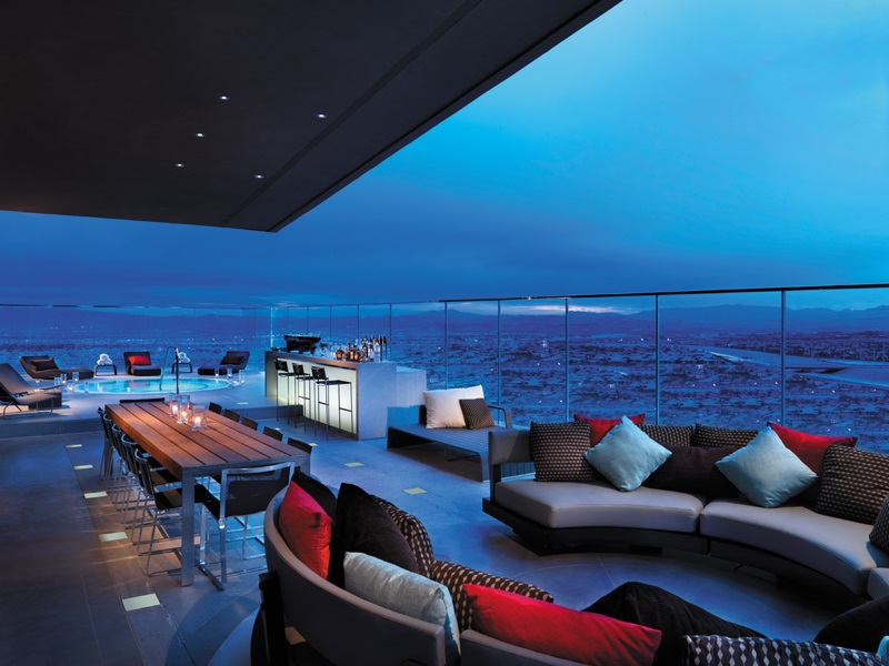Las Vegas Penthouse Suites - The One-Eighty Suite - Red Rock Resort